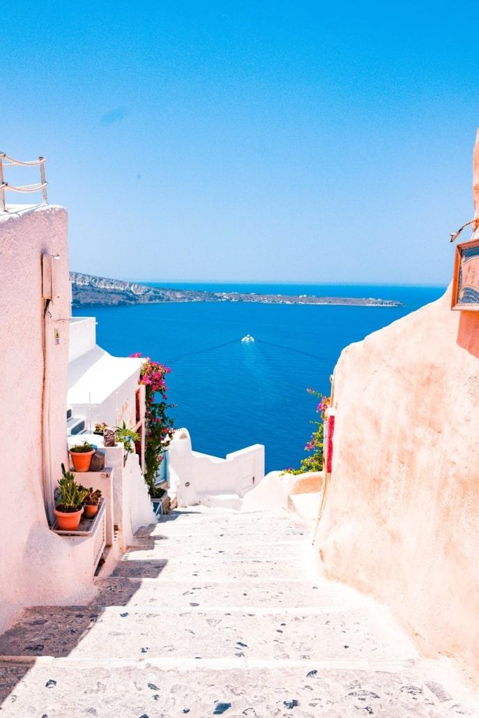 Oia Griechenland - Sommerurlaub Europa