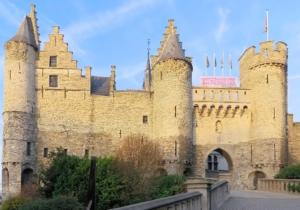 Burg in Antwerpen - Het Steen