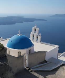 Three Bells of Fira - Dom in Santorini_