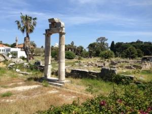 Agora Ausgrabungsstätte Kos Griechenland