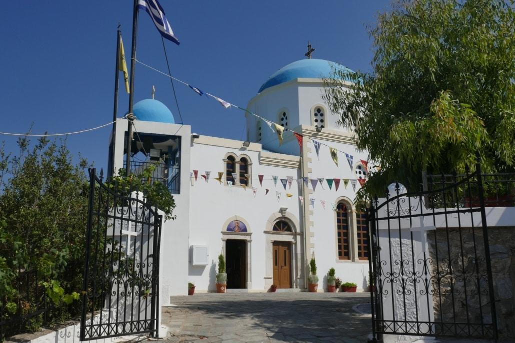 Dorf Zia auf der Insel Kos in Griechenland