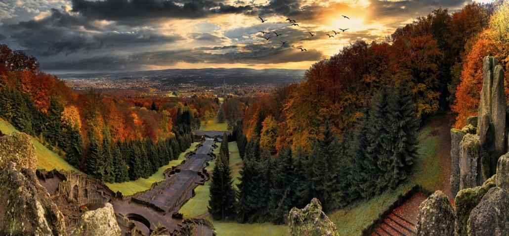 Herkules, Aussichtspunkt in Kassel Deutschland