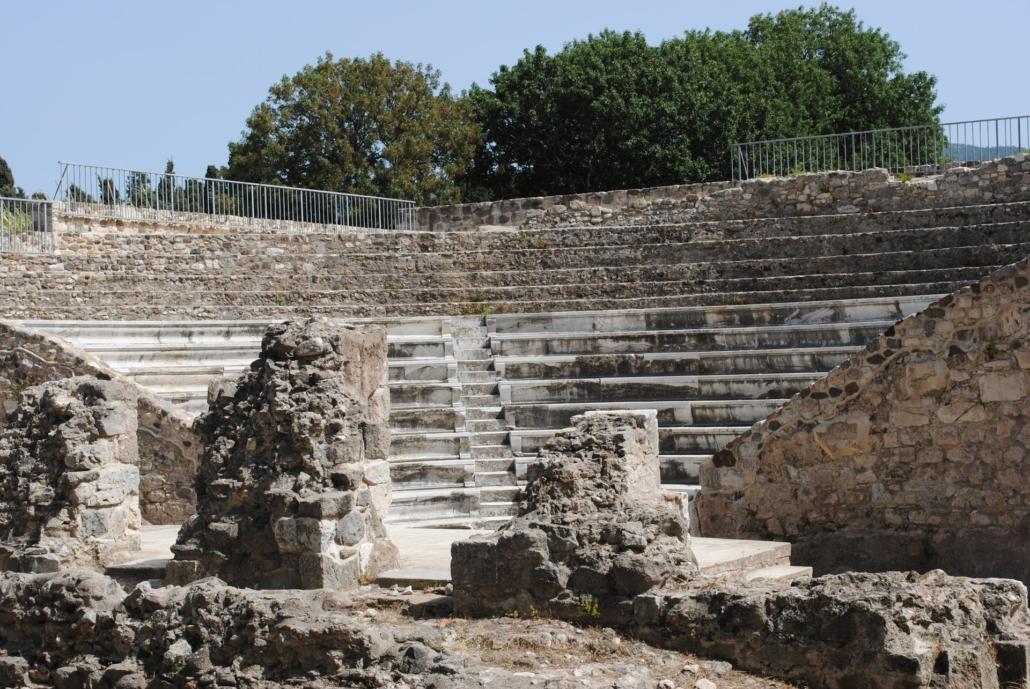 Odeon Freilufttheater auf Kos Griechenland