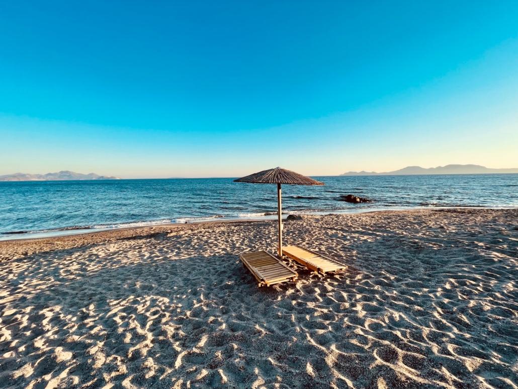 Pradise Beach auf Kos Griechenland