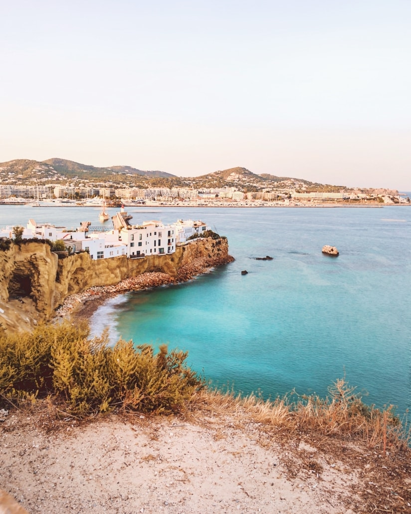 Ausblick auf Ibiza Spain