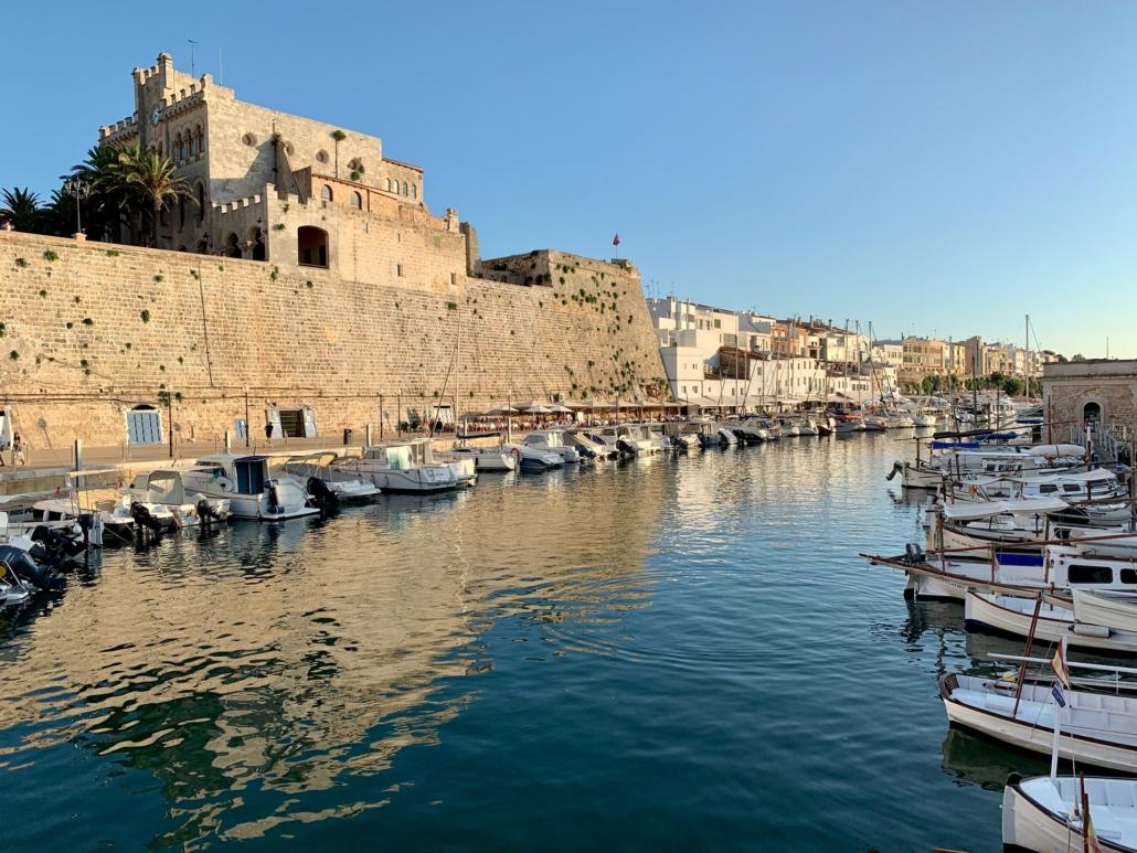Stadt Ciutadella de Menorca Spain