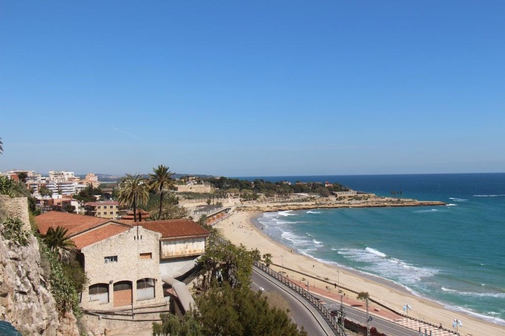 Ausblick über Tarragona in Katalanien
