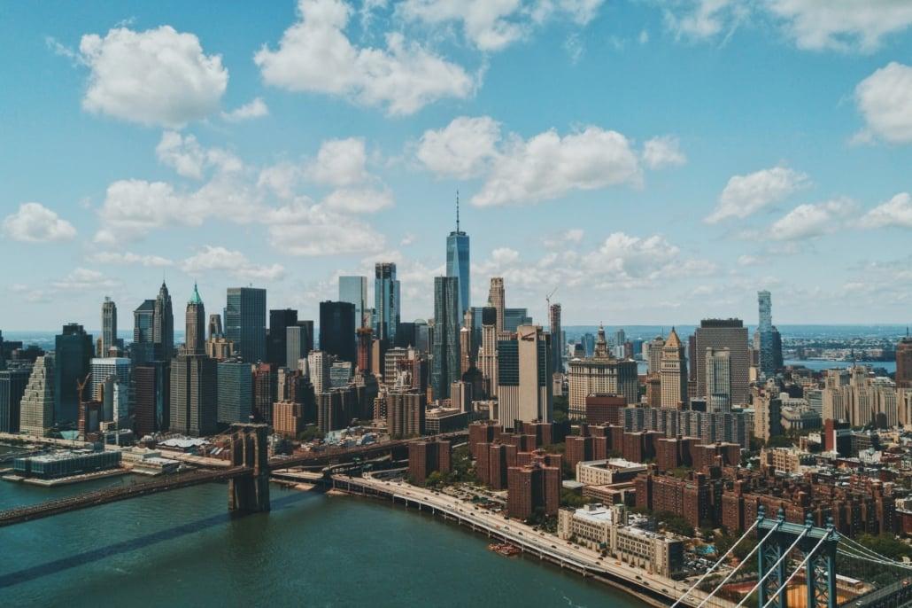 Manhattan Skyline, New York, United States