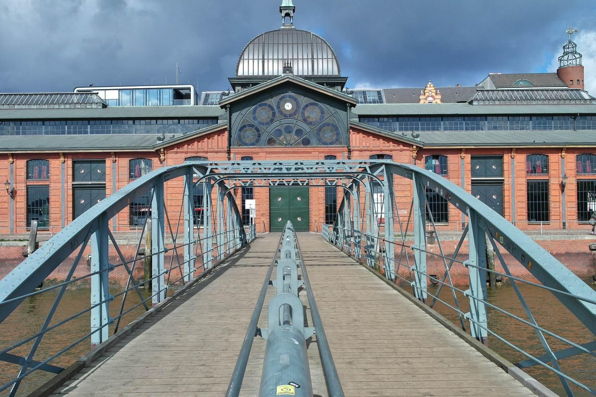 Hafen Brücke Hamburg